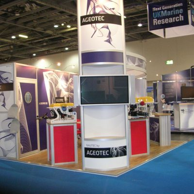 Ageotec Modular Exhibition Stand