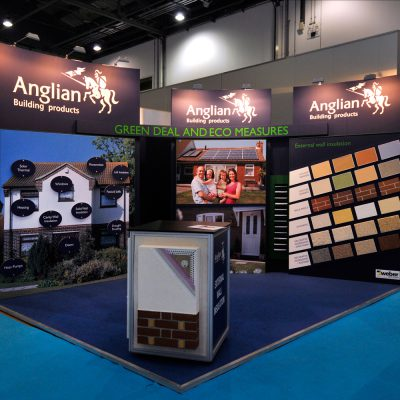Anglian Building Products Custom Built Exhibition Stand