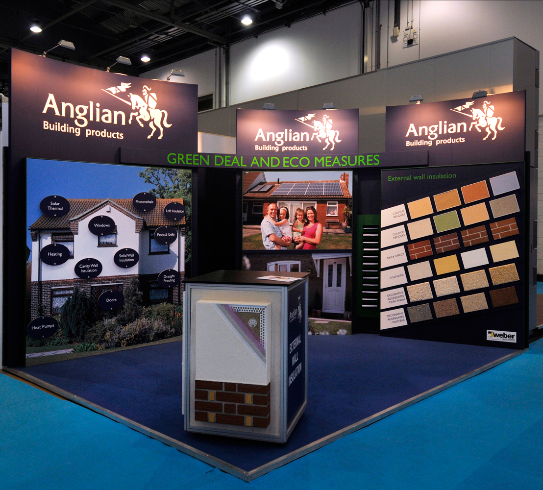 Custom Built Exhibition Stands : Custom built exhibition stands