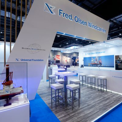 Fred- Olsen Custom Built Exhibition Stand