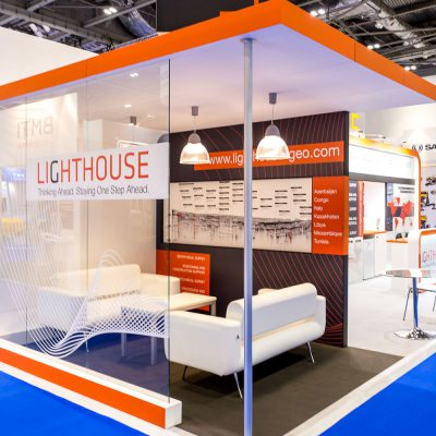 Lighthouse Custom Built Exhibition Stand