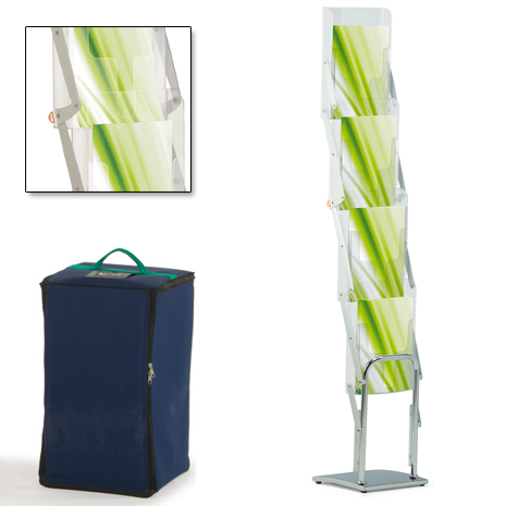 TMS Exhibition Accessories: Literature Rack