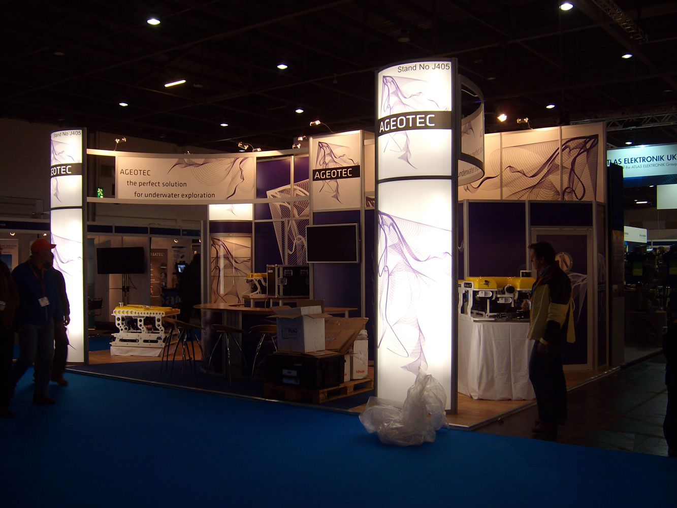 Modular Exhibition Stands Job : Modular exhibition stands tms exhibitions & events