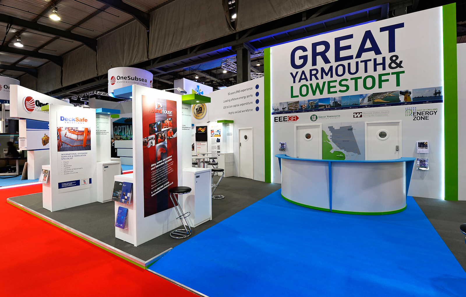 Offshore Europe Custom Built Exhibition Stand